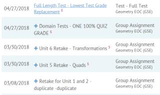 Geometry Retakes + EOC Review - Dr  Gammill's Mathtastic Blog