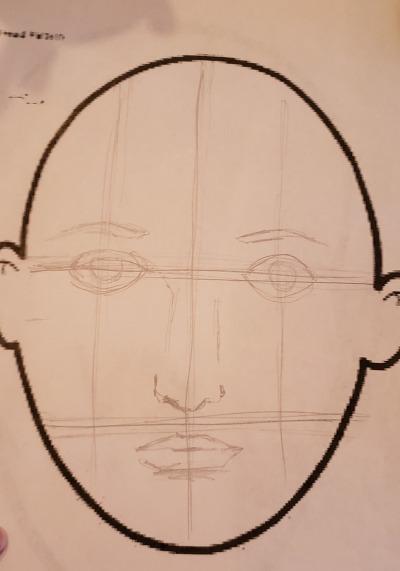 Face step 3