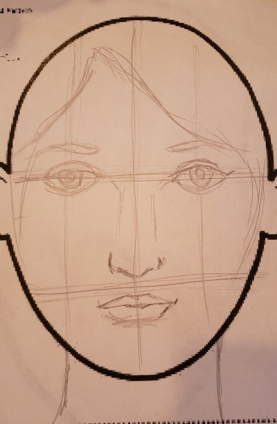 Face step 4