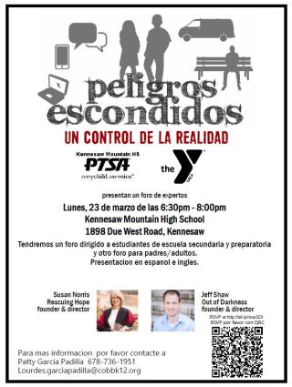 Spanish flyer_Hidden Dangers