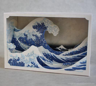 3D art shoebox
