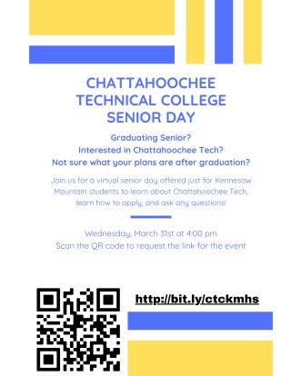 Chatt Tech Undecided Senior Day 2021