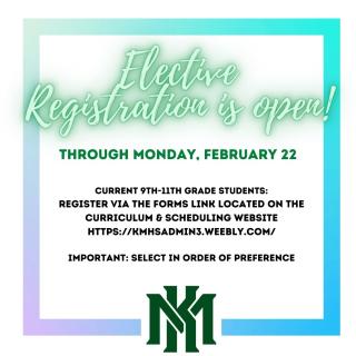 Elective Registration (2)