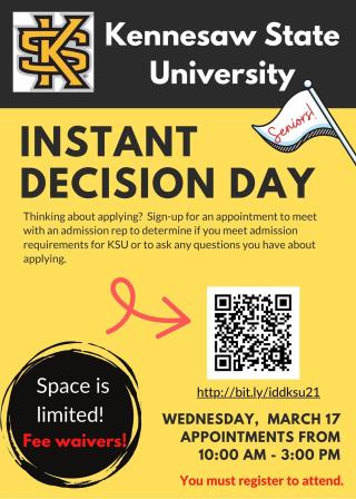 KSU Instant Decision Day